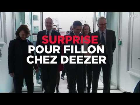 """""""Rends l'argent !"""" : surprise pour Fillon chez Deezer"""