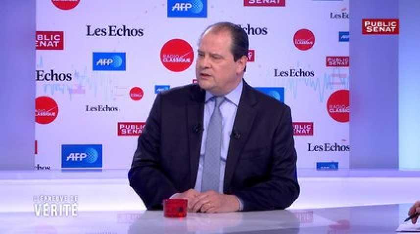 """Illustration pour la vidéo Les députés qui soutiennent Macron """"ne pourront plus représenter le Parti socialiste"""", estime Cambadélis"""