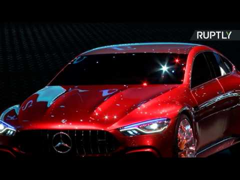 Mercedes AMG Presents Concept at Geneva Motor Show