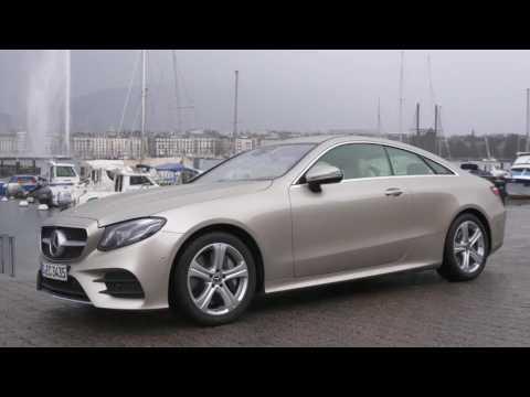 Geneva Motor Show 2017 - Mercedes-Benz E 300 Coupe - Exterior Design Trailer | AutoMotoTV