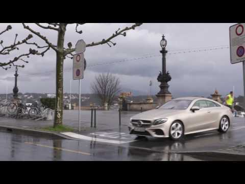 Geneva Motor Show 2017 - Mercedes-Benz E 300 Coupe - Driving Video Trailer | AutoMotoTV