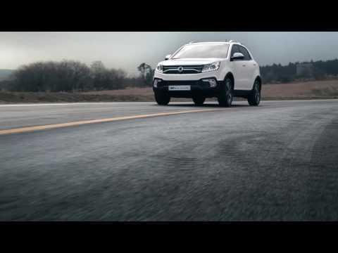 SsangYong Korando Driving Video Trailer   AutoMotoTV