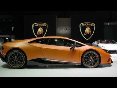 New Lamborghini Huracán Performante - Exterior Design at the Geneva Motor Show 2017 | AutoMotoTV