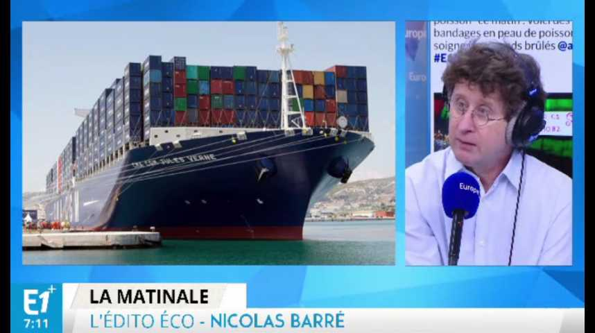 Illustration pour la vidéo Commerce extérieur : la France en déficit malgré des entreprises conquérantes