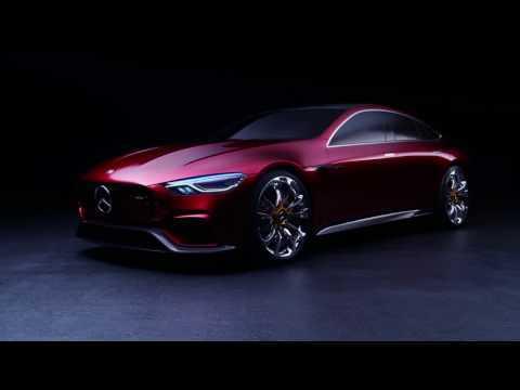 Mercedes-AMG GT Concept at the Geneva Motor Show 2017   AutoMotoTV