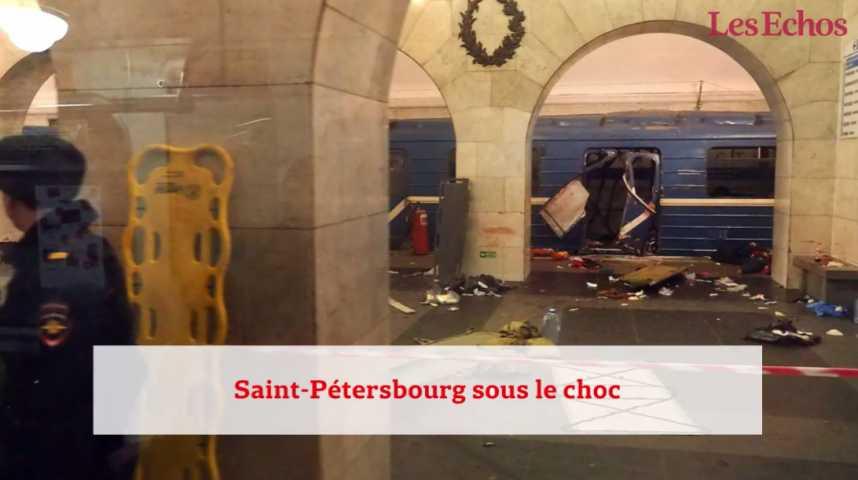 Illustration pour la vidéo Explosion mortelle dans le métro de Saint-Pétersbourg