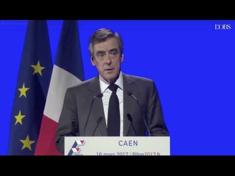"""Fillon : """"J'exècre tous les racismes, dont le racisme anti-français"""""""