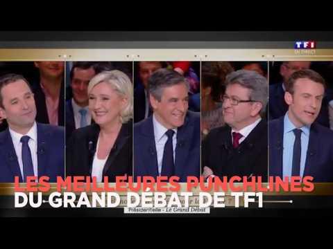"""""""Serial killer"""", """"ventriloque"""" : les meilleures réparties lors du grand débat de TF1 pour la présidentielle"""