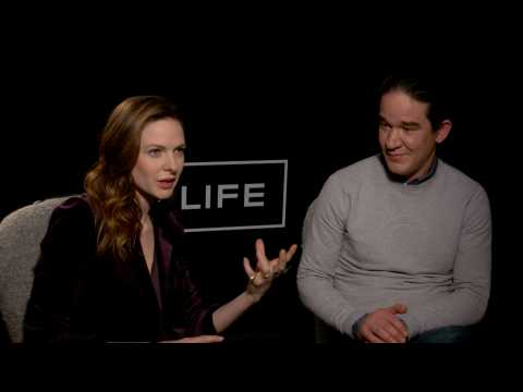 Exclusive Interview: Rebecca Ferguson and Daniel Espinosa learned a lot on the set of 'Life'