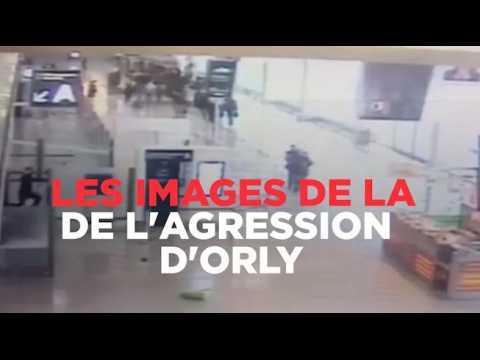 Les images de la vidéosurveillance au moment de l'agression d'Orly