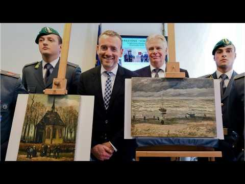 After 14 Years, Stolen Van Gogh Paintings Returned To Amsterdam Museum