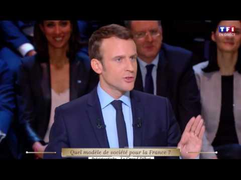 Grand débat : échange musclé entre Le Pen, Macron et Mélenchon