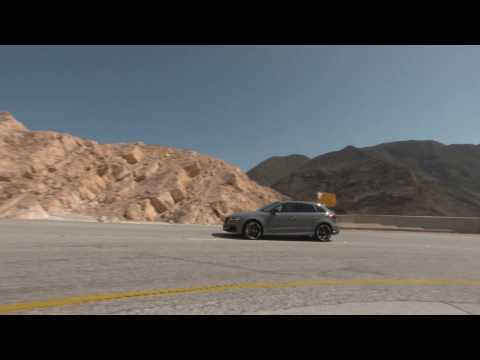 Audi RS 3 Sportback in Oman Driving Video | AutoMotoTV