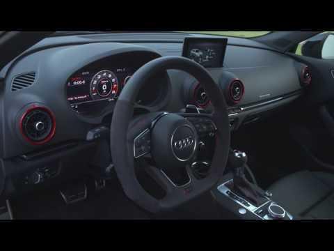 Audi RS 3 Sportback in Oman Interior Design Trailer | AutoMotoTV