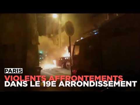 Paris : violents affrontements entre la communauté asiatique et la police