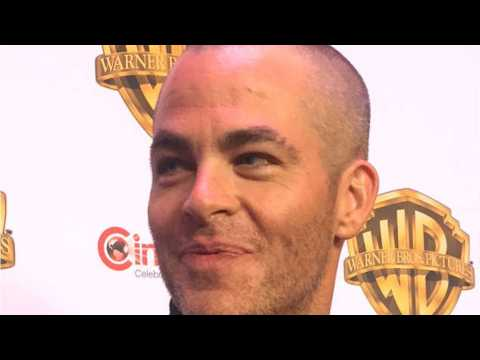 Chris Pine Shaves His Head And Wears It Well