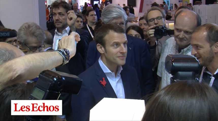Illustration pour la vidéo Qui sont les soutiens d'Emmanuel Macron ?