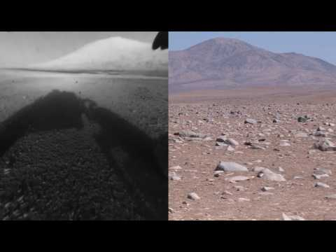 Chile desert combed for clues to life on Mars