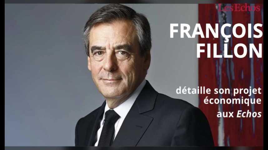 Illustration pour la vidéo François Fillon : son programme économique en 2 minutes