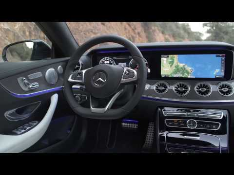 Mercedes-Benz E 400 d 4MATIC Coupe Interior Design in Cashmere White | AutoMotoTV