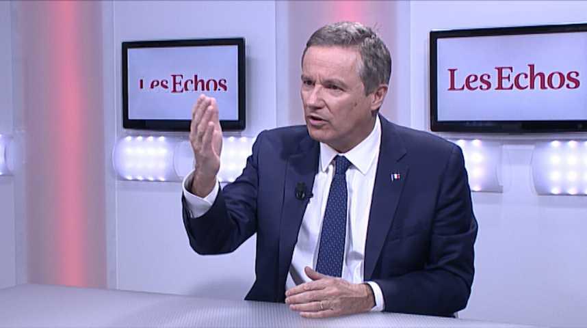 Illustration pour la vidéo « En 2017, les Français vont choisir une autre politique économique » (Nicolas Dupont-Aignan)