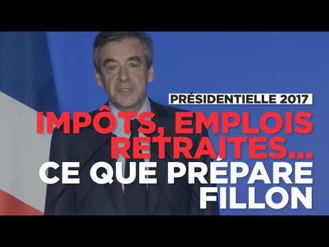 Retraite, 35h, impôts, dépenses : François Fillon détaille son programme