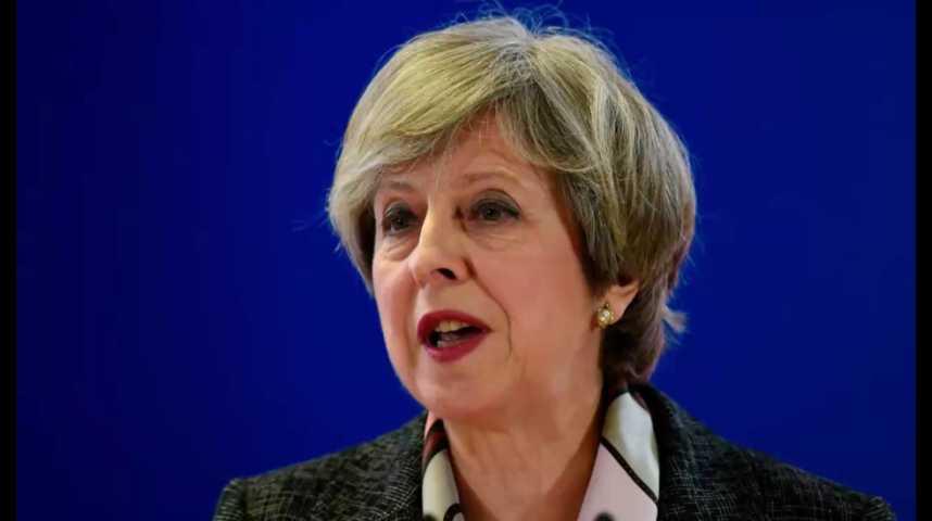Illustration pour la vidéo Theresa May peut déclencher le Brexit, mais l'Ecosse bouscule le jeu