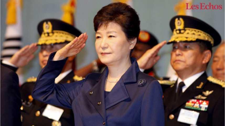 Illustration pour la vidéo La Corée du Sud destitue sa présidente
