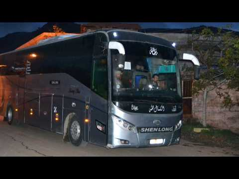 Bomb Hits Evacuee Buses In Syria