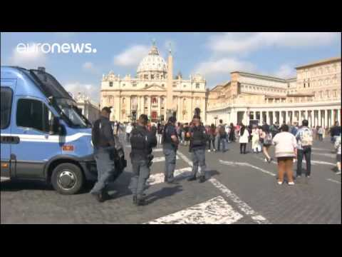 Security tightened in Rome ahead of Pope's Easter message