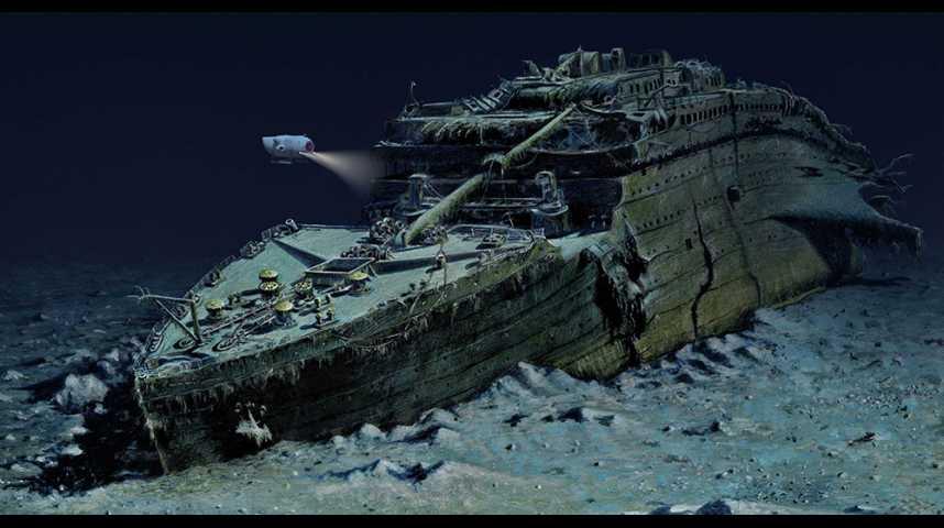 Illustration pour la vidéo Et si vous visitiez l'épave du Titanic ?