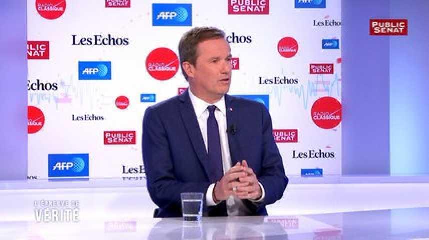 """Illustration pour la vidéo """"Je regrette que pendant cette campagne, on ait si peu parlé des questions de terrorisme et de sécurité"""", estime Nicolas Dupont-Aignan"""