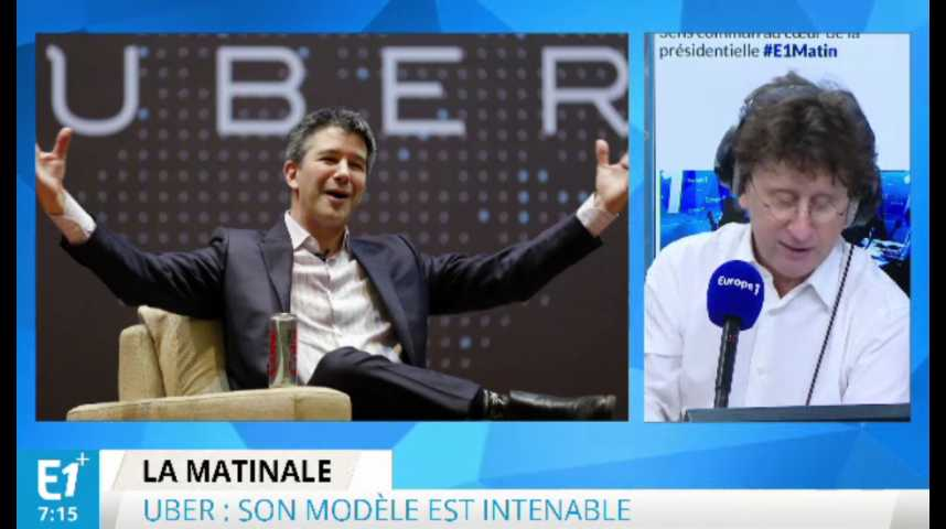Illustration pour la vidéo Uber : beaucoup de pertes malgré un succès indiscutable