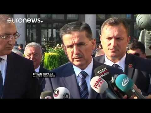 Turkey: Clashes on anniversary of peace rally suicide attack
