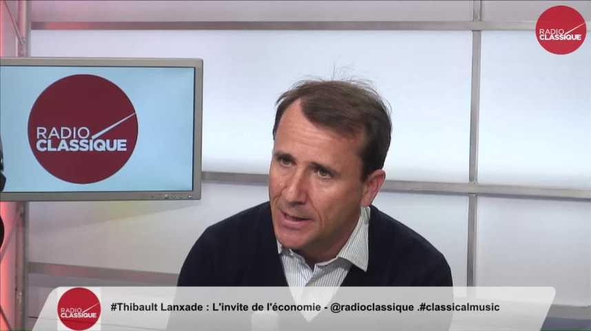 """Illustration pour la vidéo """"Emmanuel Macron a une compréhension de l'entreprise très pertinente"""" Lanxade Thibault (11/10/2016)"""