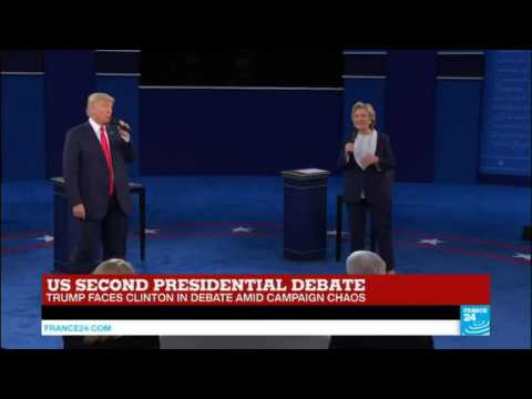 US Presidential Debate: Trump and Clinton clash over Clinton's personal emails