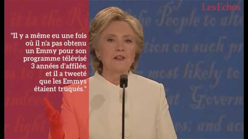 Illustration pour la vidéo Si Clinton gagne, Trump n'exclut pas de contester le résultat de l'élection