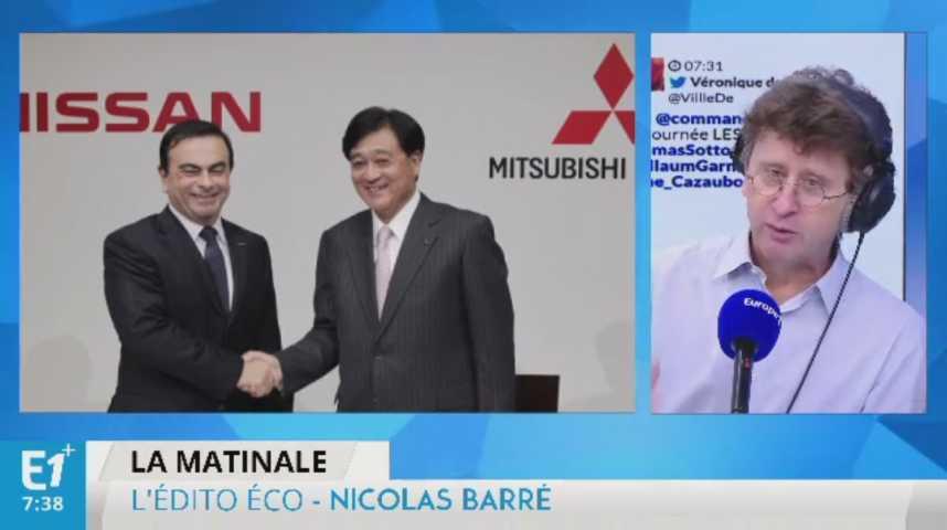 Illustration pour la vidéo Après Renault et Nissan, Carlos Ghosn prend la tête de Mitsubishi Motors