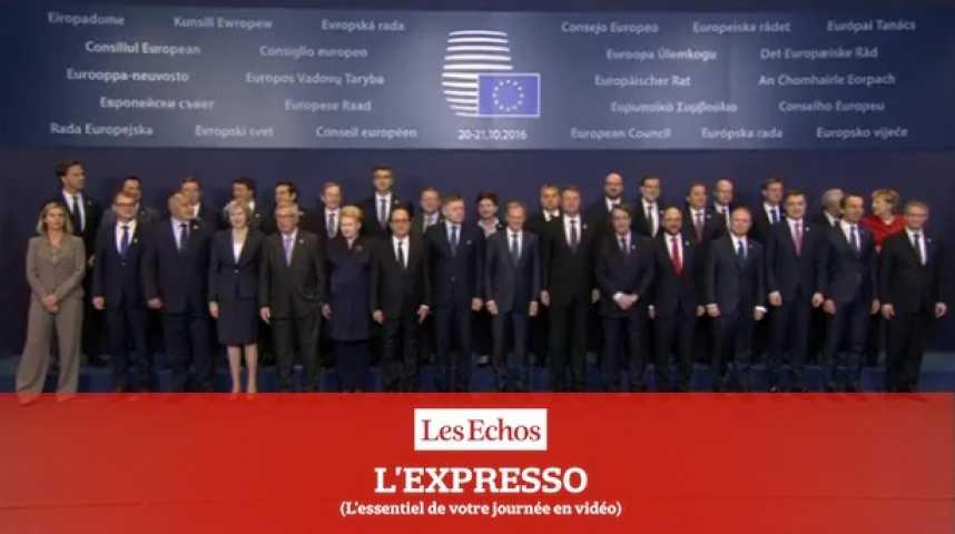 Illustration pour la vidéo L'Expresso du 21 octobre 2016 : CETA, pression maximale sur la Belgique et la Wallonie...