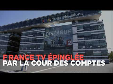 France TV : 7 dérives épinglées par la Cour des comptes