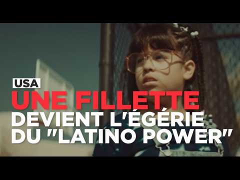 "USA : l'égérie du ""Latino Power"" n'a que 11 ans"