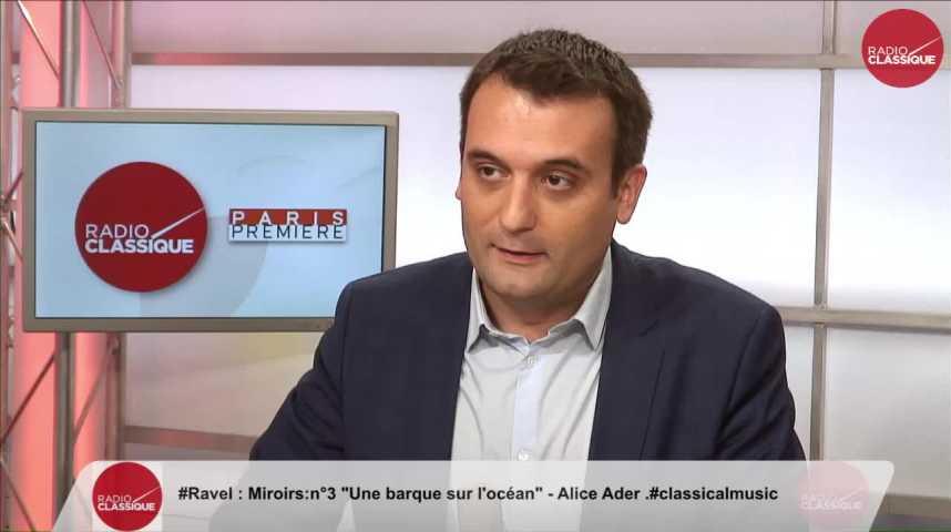 """Illustration pour la vidéo """"Il faut reconstituer les effectifs détruits du temps de Sarkozy"""" Florian Philippot (31/10/2016)"""