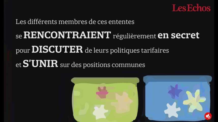 Illustration pour la vidéo Le cartel des produits d'hygiène paiera 1 milliard d'euros d'amende