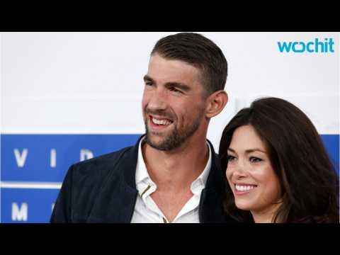 Michael Phelps Shares Wedding Photos