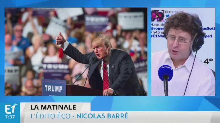 Illustration pour la vidéo Donald Trump : Wall Street redoute le saut dans l'inconnu