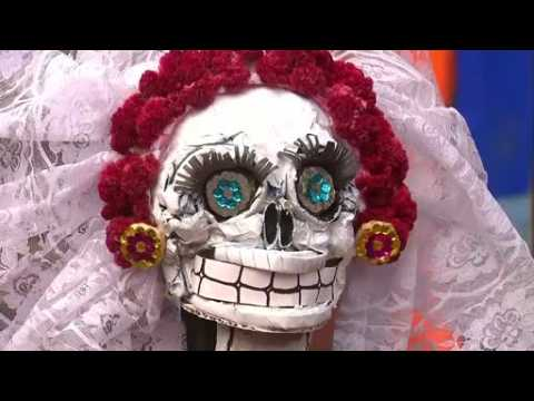 Mexico City celebrates the Day of the Dead
