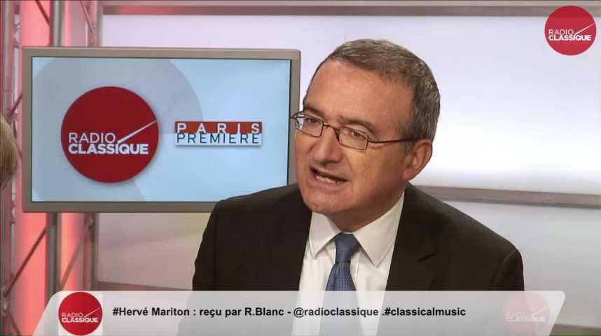 """Illustration pour la vidéo """"Une des forces d'Alain Juppé, c'est d'avoir une vision sérieuse des finances publiques"""" Hervé Mariton (26/10/2016)"""
