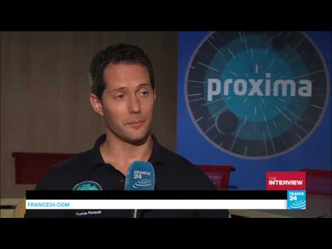 French astronaut Thomas Pesquet urges next generation to reach for the stars
