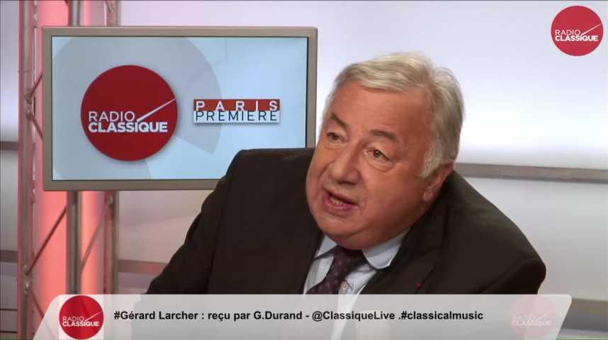 """Illustration pour la vidéo """"La question migratoire doit se jouer dans une politique européenne"""" Gérard Larcher (13/10/2016)"""