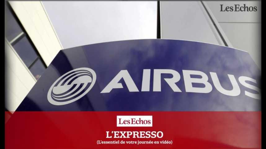 Illustration pour la vidéo L'Expresso du 14 octobre 2016 : Airbus en passe de livrer son 10 000e avion...